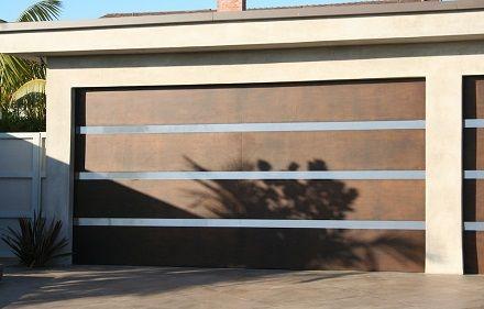 Portao De Garagem Moderno Decorando Casas Garagem Moderna