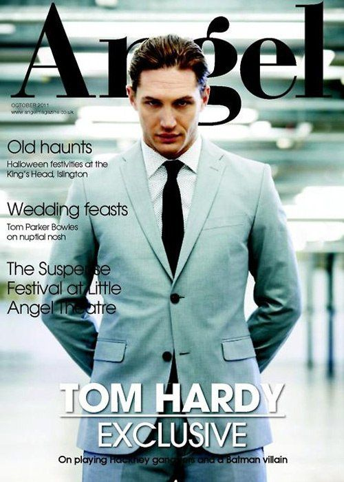 Tom by David Venni for the UK Mens Health and Angel magazine 2010