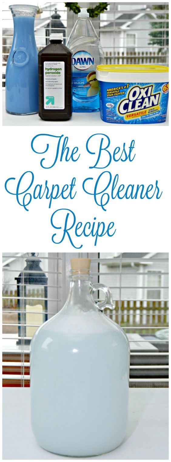 The Best Carpet Cleaner Recipe Cleaners And
