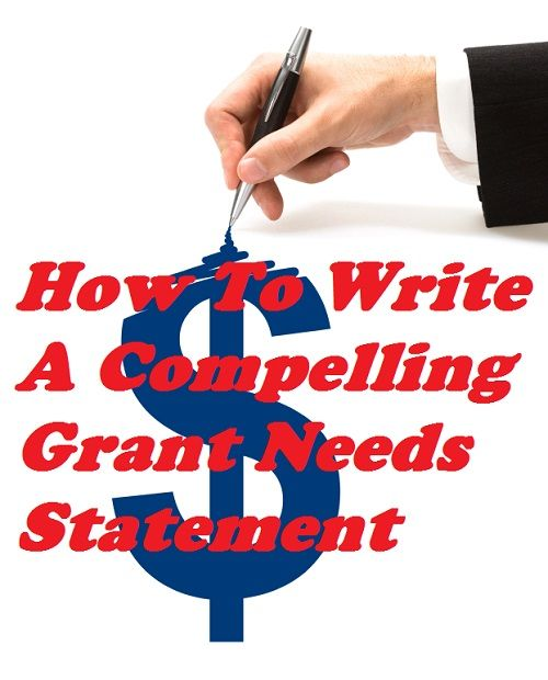 how to write a grant winning proposal