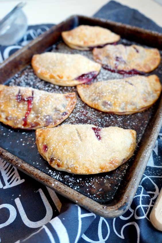 blackberry hand pies | The Baking Fairy: