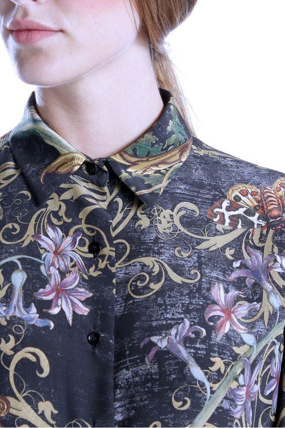Estampado floral Alex Vidal. Prêt à porter de lujo español.