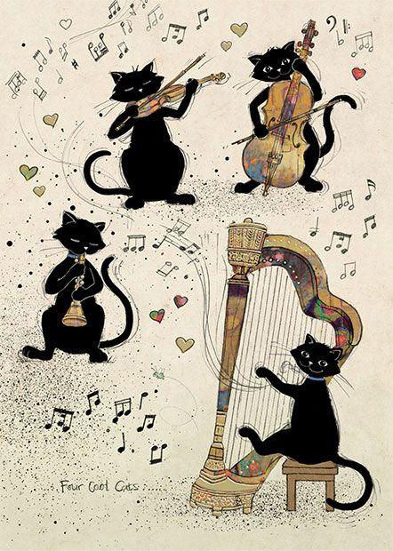 Quatuor félin .