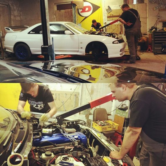 Install engine RB26