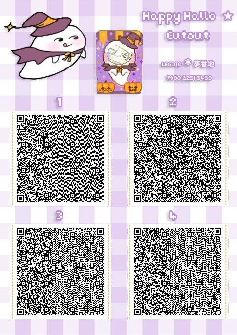 Pumpkin/candy corn outfit for Halloween. | Animal Crossing QR ...
