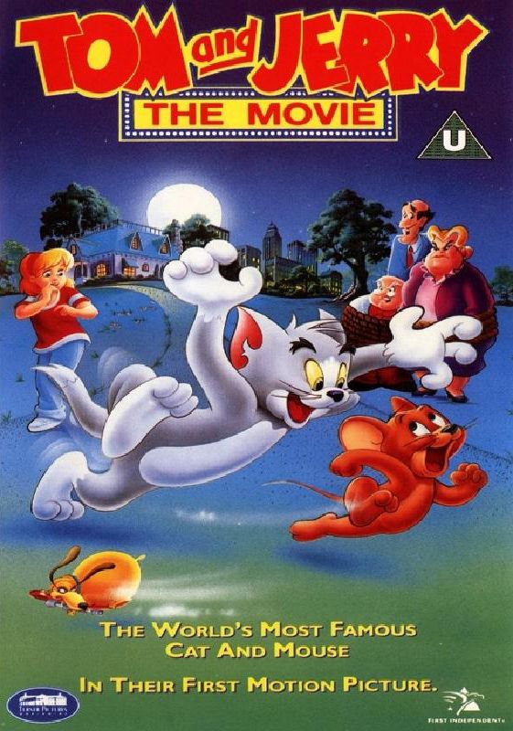 Tom and jerry the movie dvd box art box art pinterest for What was the name of that movie