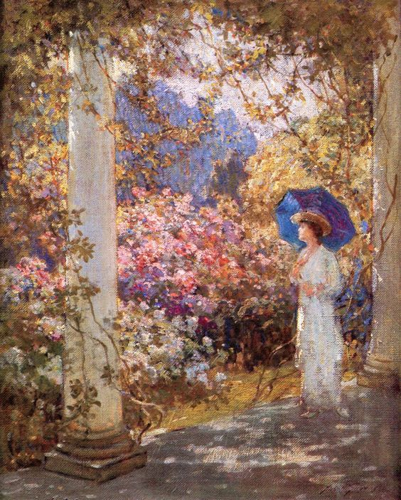 The Athenaeum - A Summers Day (Abbott Fuller Graves - No dates listed):