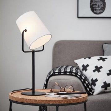 Lampe De Chevet Lampe De Salon Au Meilleur Prix Leroy Merlin Dekorative Lampen Lampentisch Lampe