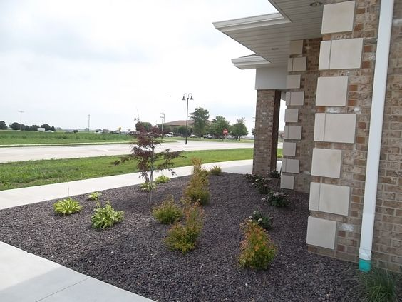 Commercial and landscapes on pinterest for Commercial landscape design