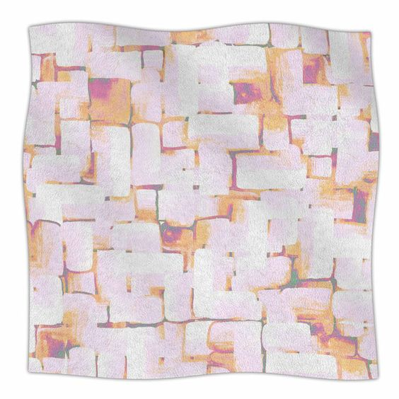 Cobble by Rachel Watson Fleece Blanket