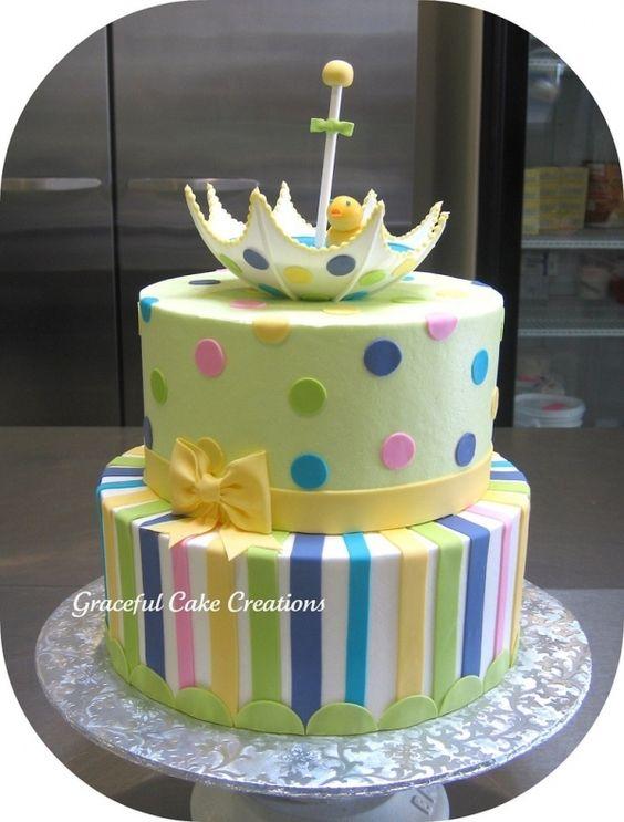 baby shower cake cakes and cake decorating pinterest kuchen tupfen und duschen. Black Bedroom Furniture Sets. Home Design Ideas