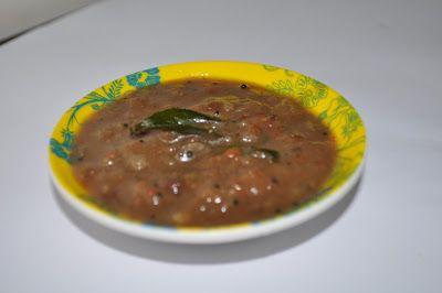 Brinjal Gothsu ~ Yes I can cook