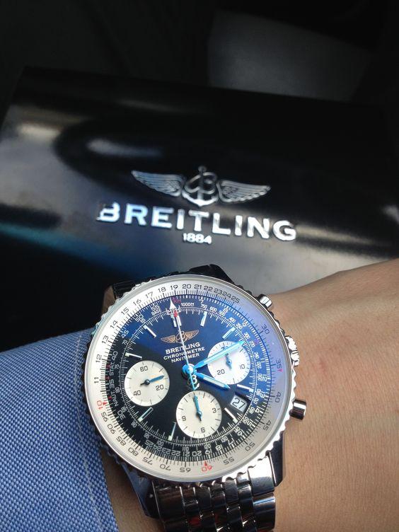 Zegarek Breitling Navitimer Montbrillant