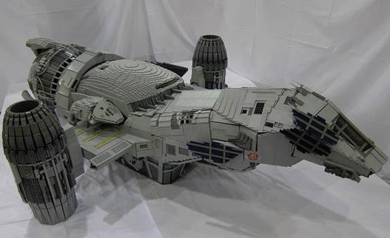 Epic Seven-Foot Long LEGO Serenity Model I've been lucky enough to see multiple times at Brickfair