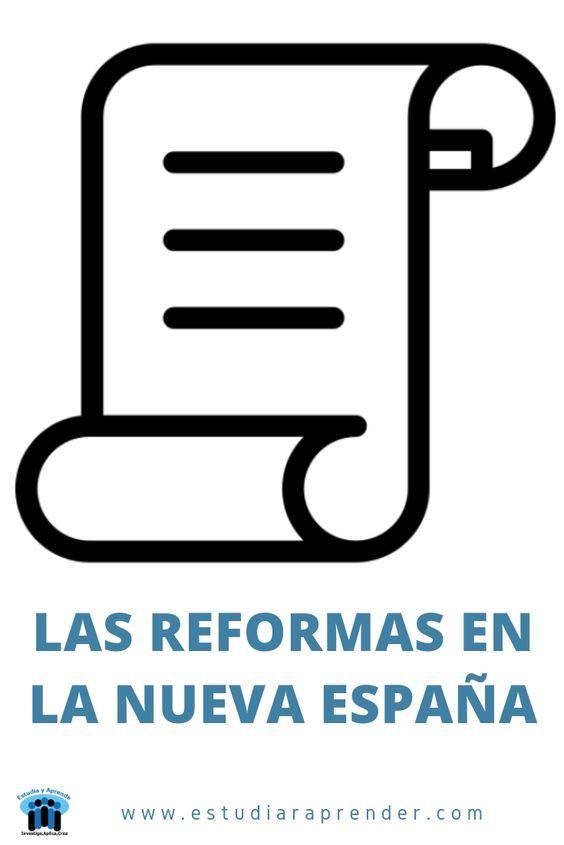 las reformas en la nueva españa