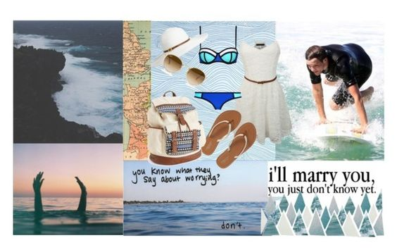 """""""Going to the beach with Louis"""" by dea-styles1d ❤ liked on Polyvore"""