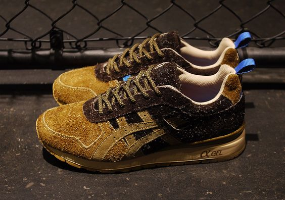 mita x Asics GT II Squirrel: