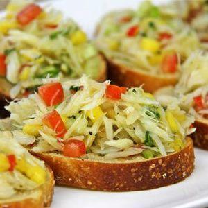 Festive Saltfish Buljol Recipe.|CaribbeanPot.com