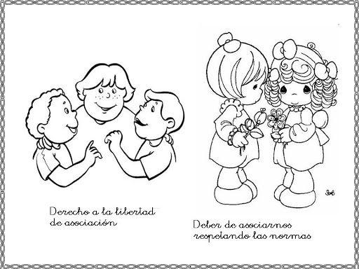 Laminas Para Imprimir Los Derechos Y Deberes Para Imprimir Comics Fictional Characters Character
