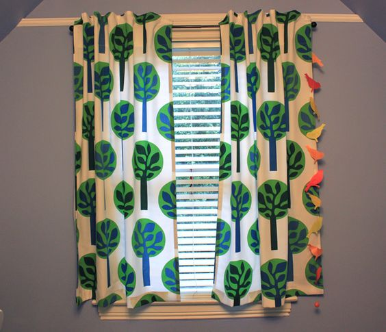 How-To: Hidden Tab Curtains #sewing #homedecor