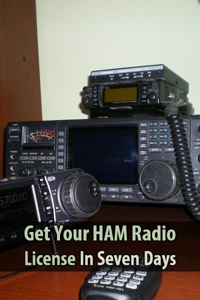 How to Get Your HAM Radio License in Seven Days