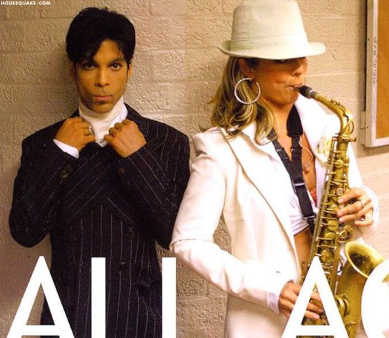 Prince and Candy Dulfer