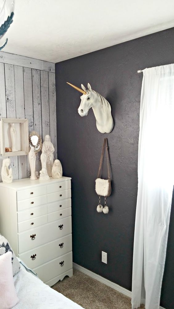 Cute Unicorn taxidermy!