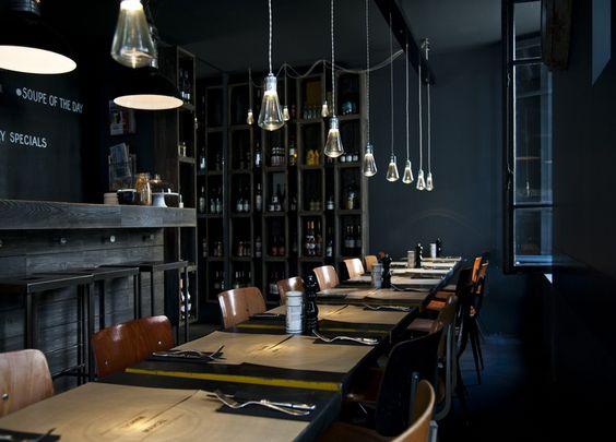 Marcel, restaurant bar: