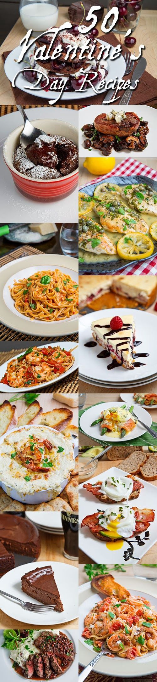 valentine's day recipes for dinner party