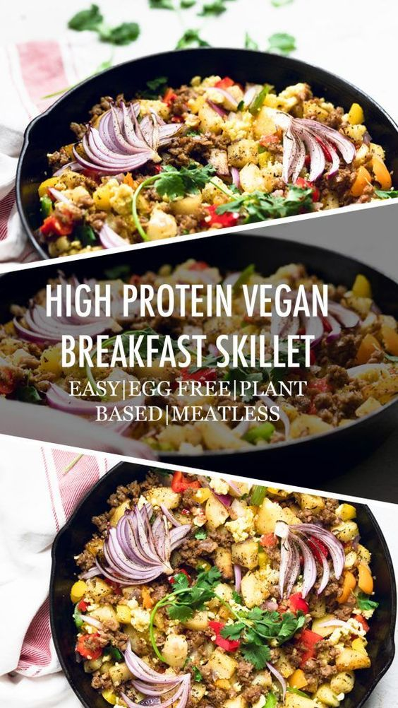 Vegan Breakfast Skillet Recipe (Dairy Free/Egg Free/ Meatless) - Make It Dairy Free