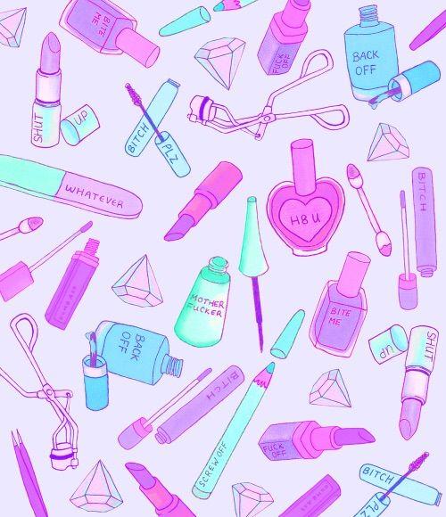 animated makeup wallpaper - photo #1