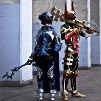 Aqua and Terra in their battle armor. | Cosplay  Aqua and Terra ...