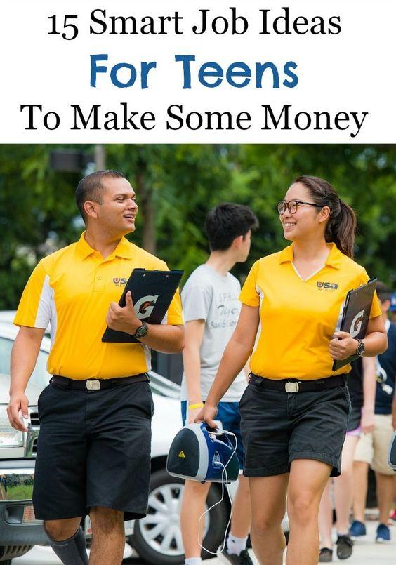 15 Smart Job Ideas For Teens To Make Some Money | Ideas, Job ...