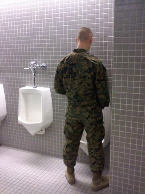 Pissing In The Mens Room Not In The Urinals