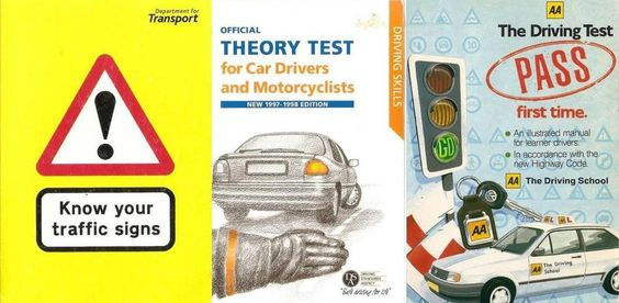Bundle of 3 Pass your Driving & Motorcycle Theory Test Books