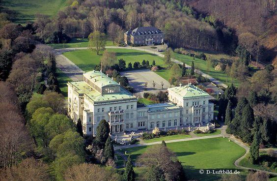 Luftbild Villa Hügel