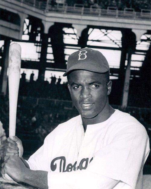 Brooklyn Dodgers JACKIE ROBINSON Glossy 8x10 Photo Print Baseball Poster #BrooklynDodgers