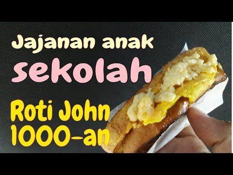 Resep Roti John 1000 An Jualan Jajanan Anak Sekolah Yout0ube Roti Hot Dog Buns Food