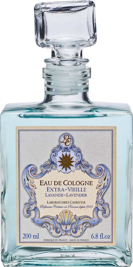 French Lavender Eau De Cologne From The World Renowned