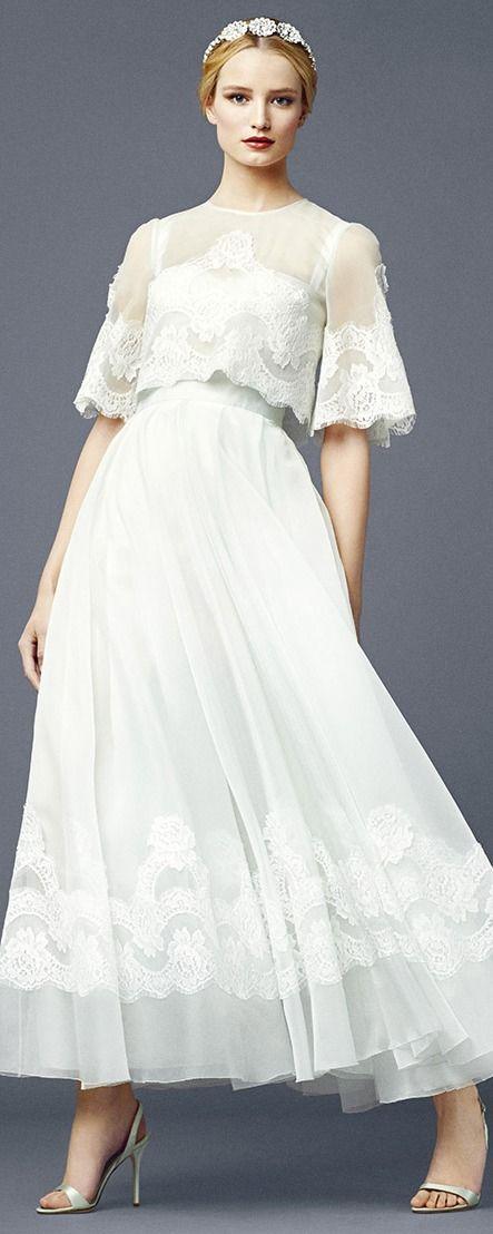 Dolce gabbana spring summer 2014 w e d pinterest for Dolce gabbana wedding dress