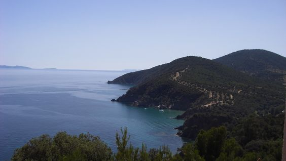 South of France - Cavalaire - View from the appartment. Best of all...