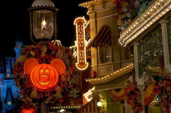 Halloween celebration at Disneyland