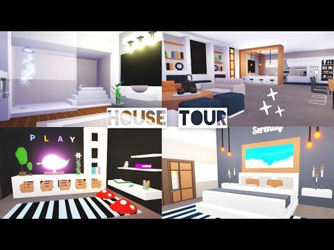Futuristic House Tour Adopt Me Roblox Youtube Futuristic Home Cool House Designs Cute Room Ideas
