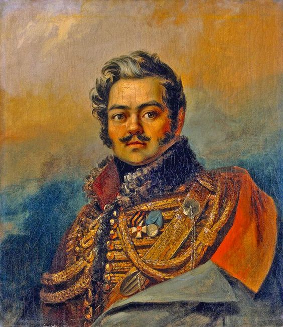 Denis Davydov was a Russian soldier-poet of the Napoleonic Wars who invented a specific genre – hussar poetry noted for its hedonism and bravado – and spectacularly designed his own life to illustrate such poetry.