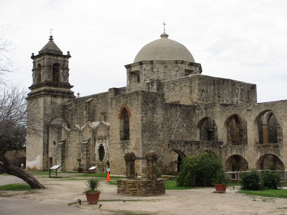 The San Jose Mission was founded when the Mission San Antonio de Valero (the Alamo) had become overcrowded with refugees from the closed East Texas missions.  1720