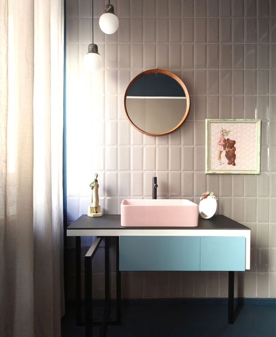 Discover The Latest Bathroom Color Trends: Bathroom Trends 2017 / 2018 – Designs, Colors And Materials - InteriorZine