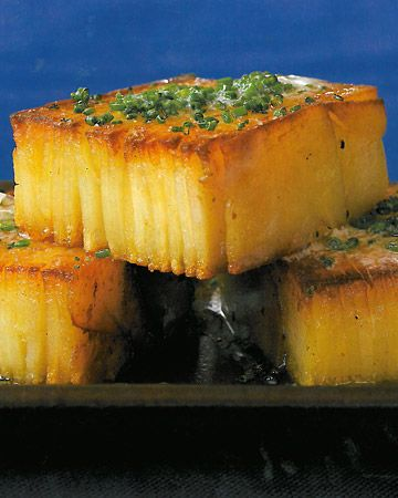 Potato Pave' - so spectacular looking and decievingly simple to do - a make ahead dish