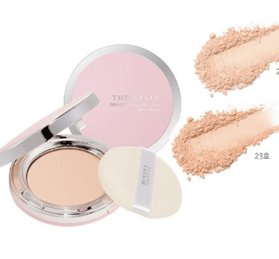 MISSHA The Style Fitting Wear Two-Way Cake SPF27 PA++ / 10g