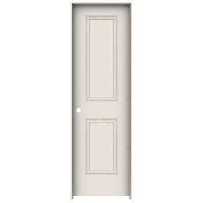 Metrie Interior Closet Door 13266 28 In X 80 In Primed 2 Panel Prehung Interior Door With Rabbeted Prehung Interior Doors Interior Closet Doors Prehung Doors