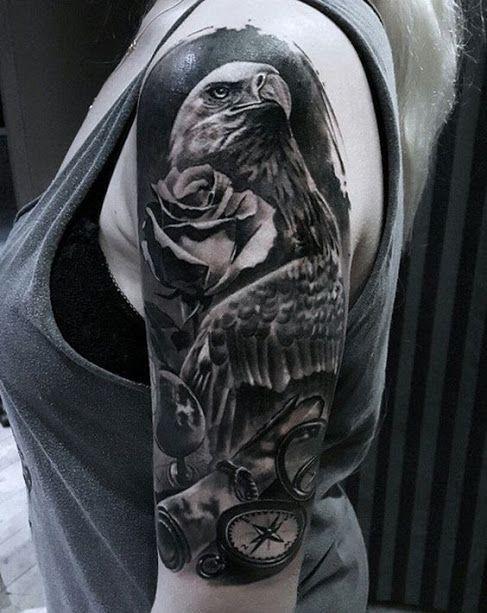 50 Erstaunliche Half Sleeve Tattoos Und Ideen Fur Manner Und
